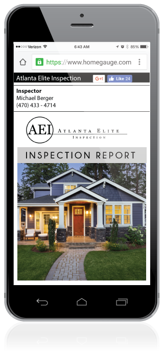 Homeguage CRL Digital Home Inspection Report
